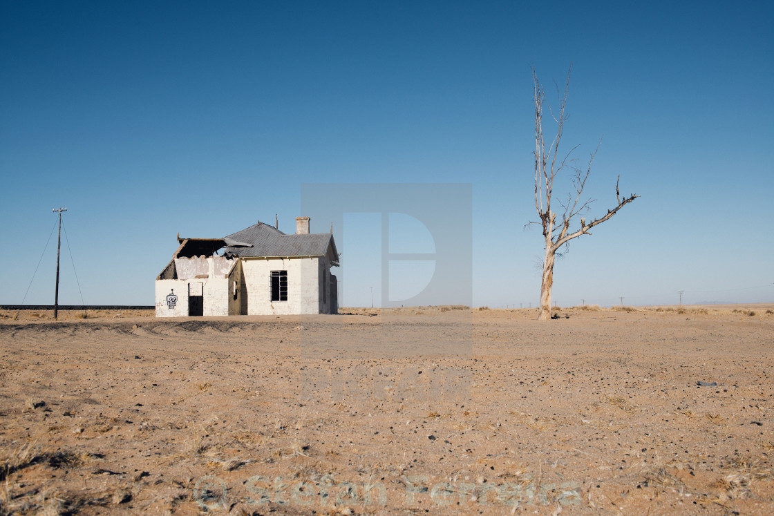 """Abandoned Station at Garub"" stock image"