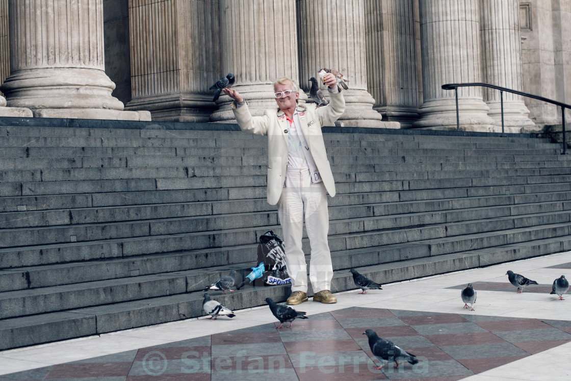 """Bird Man"" stock image"
