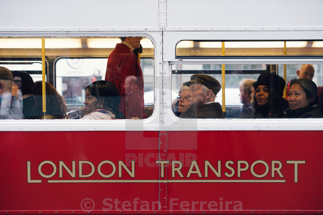 """Bus People"" stock image"