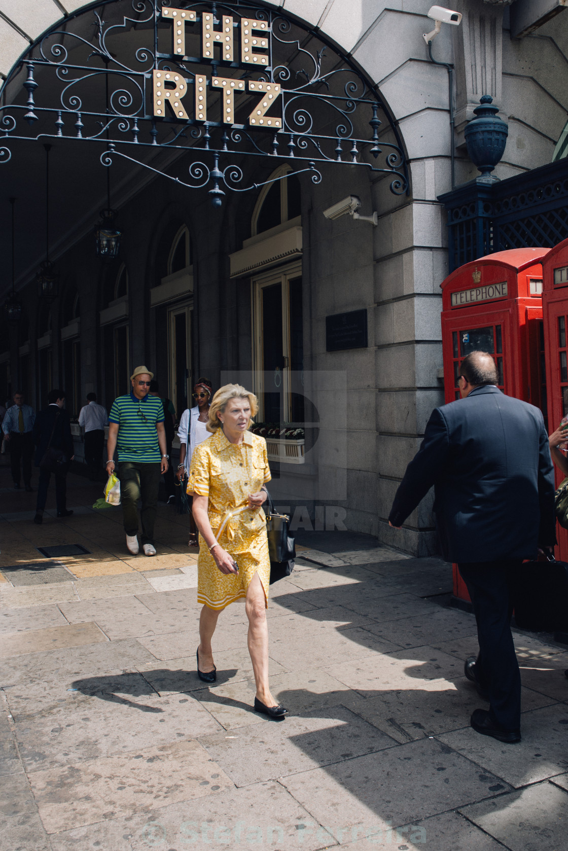"""On Piccadilly"" stock image"