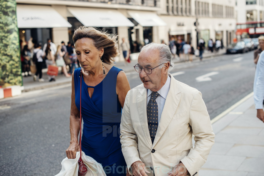 """New Bond Street I"" stock image"