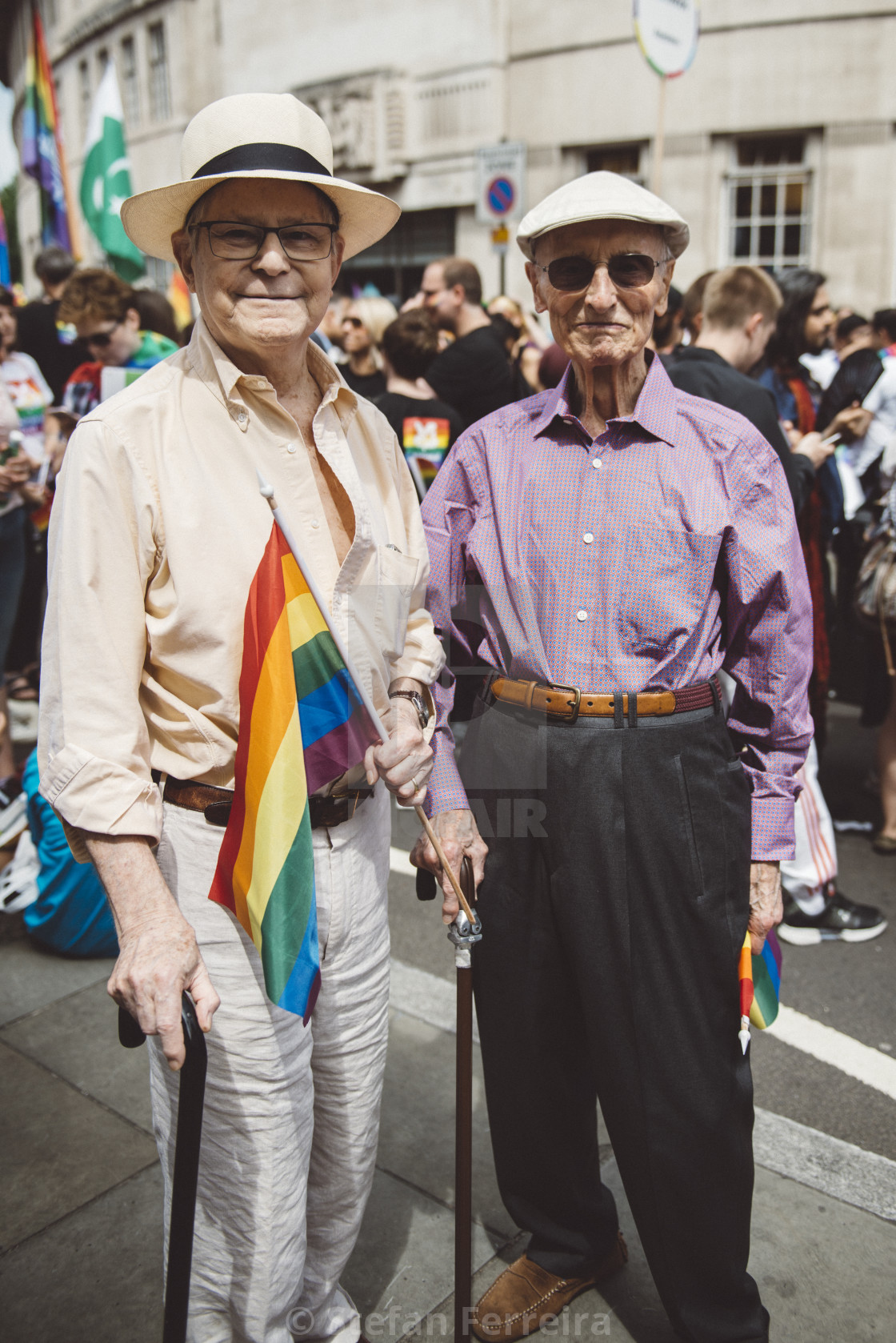 """London Pride '17 [5]"" stock image"