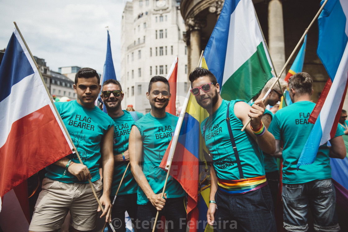 """London Pride '17 [6]"" stock image"