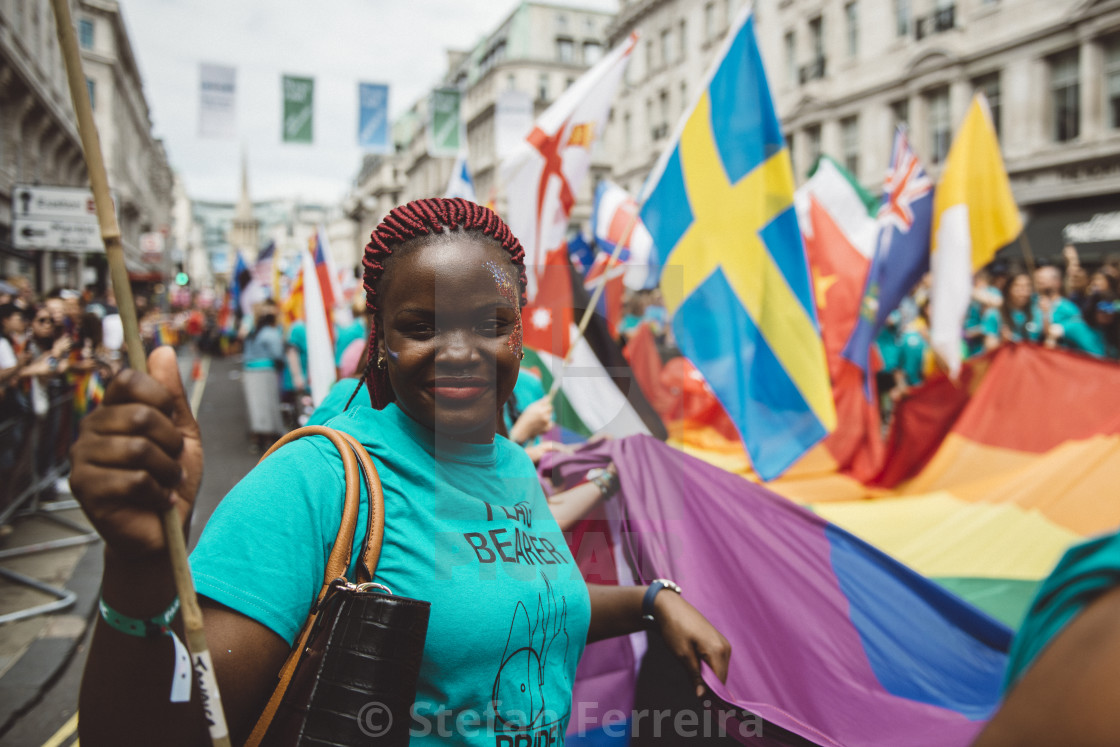"""London Pride '17 [11]"" stock image"