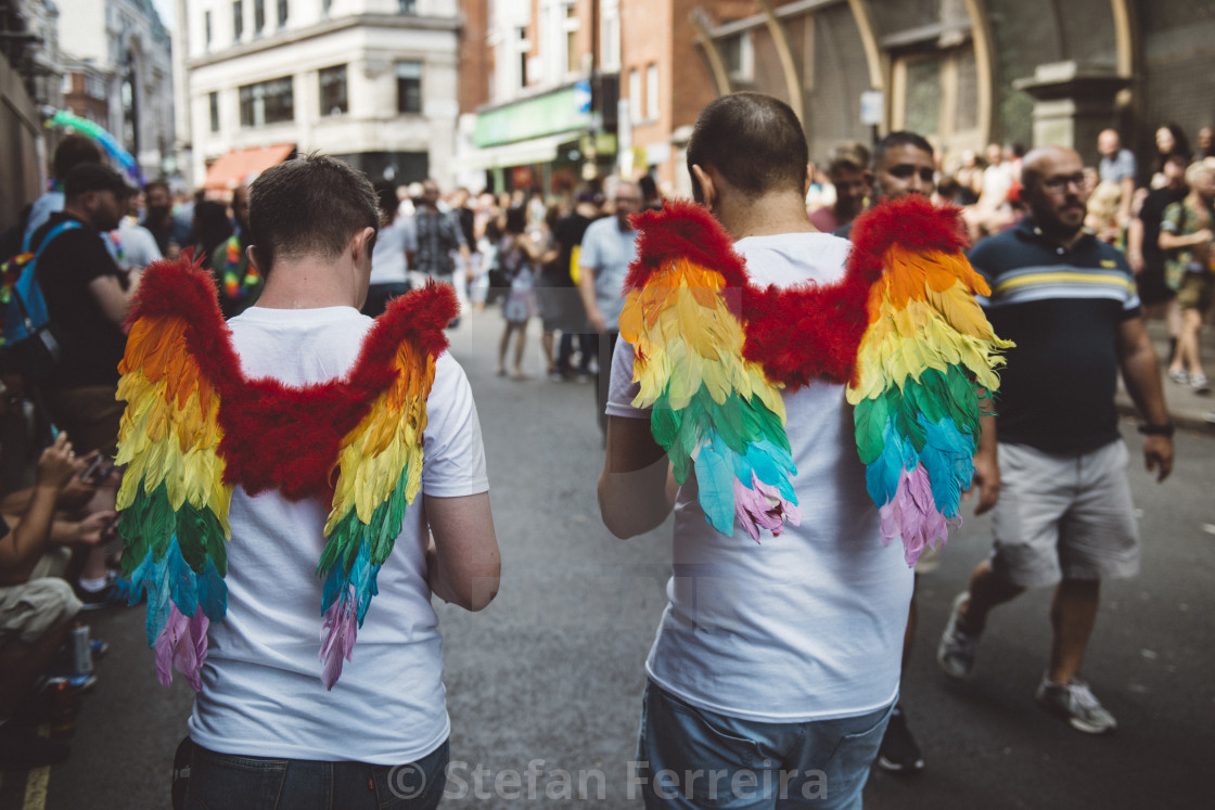 """London Pride '17 [13]"" stock image"