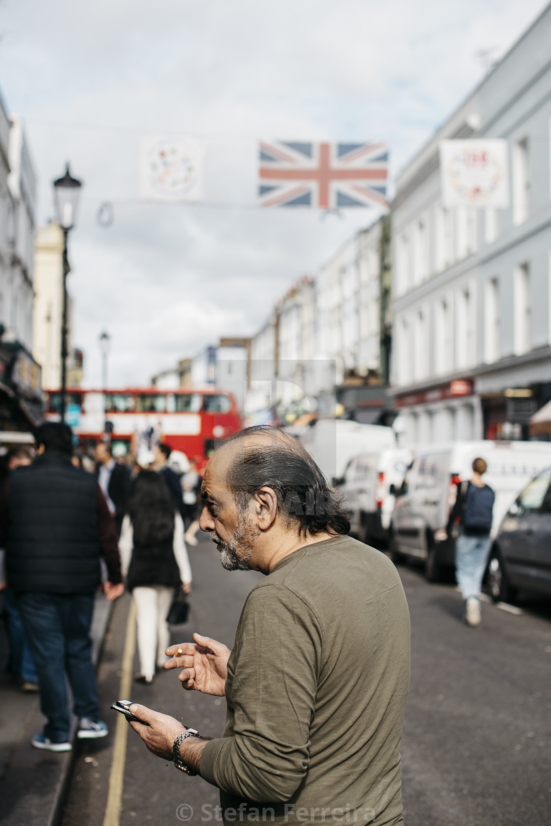 """Portobello Road [2]"" stock image"