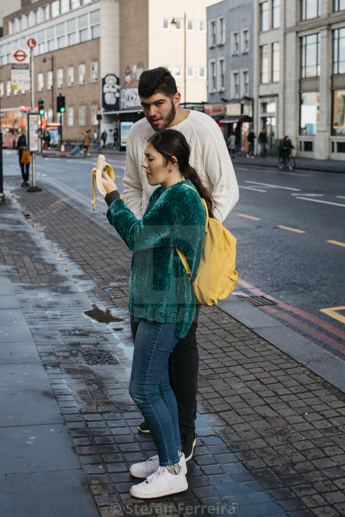 """Shoreditch High Street [4]"" stock image"