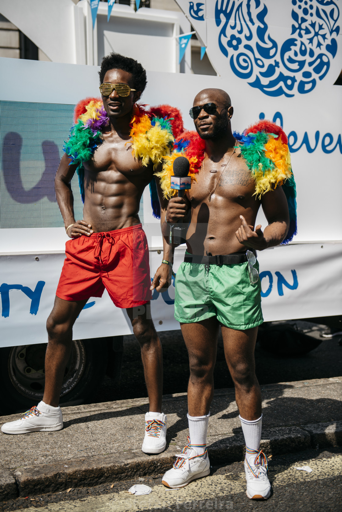 """London Pride '18 [2]"" stock image"