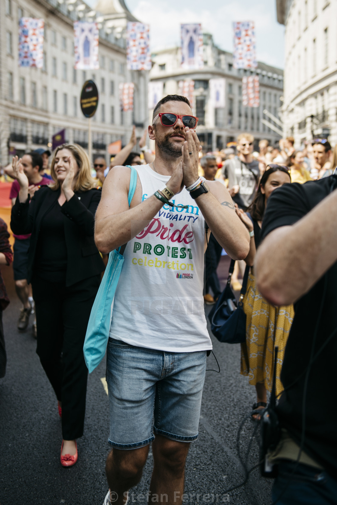 """London Pride '18 [7]"" stock image"