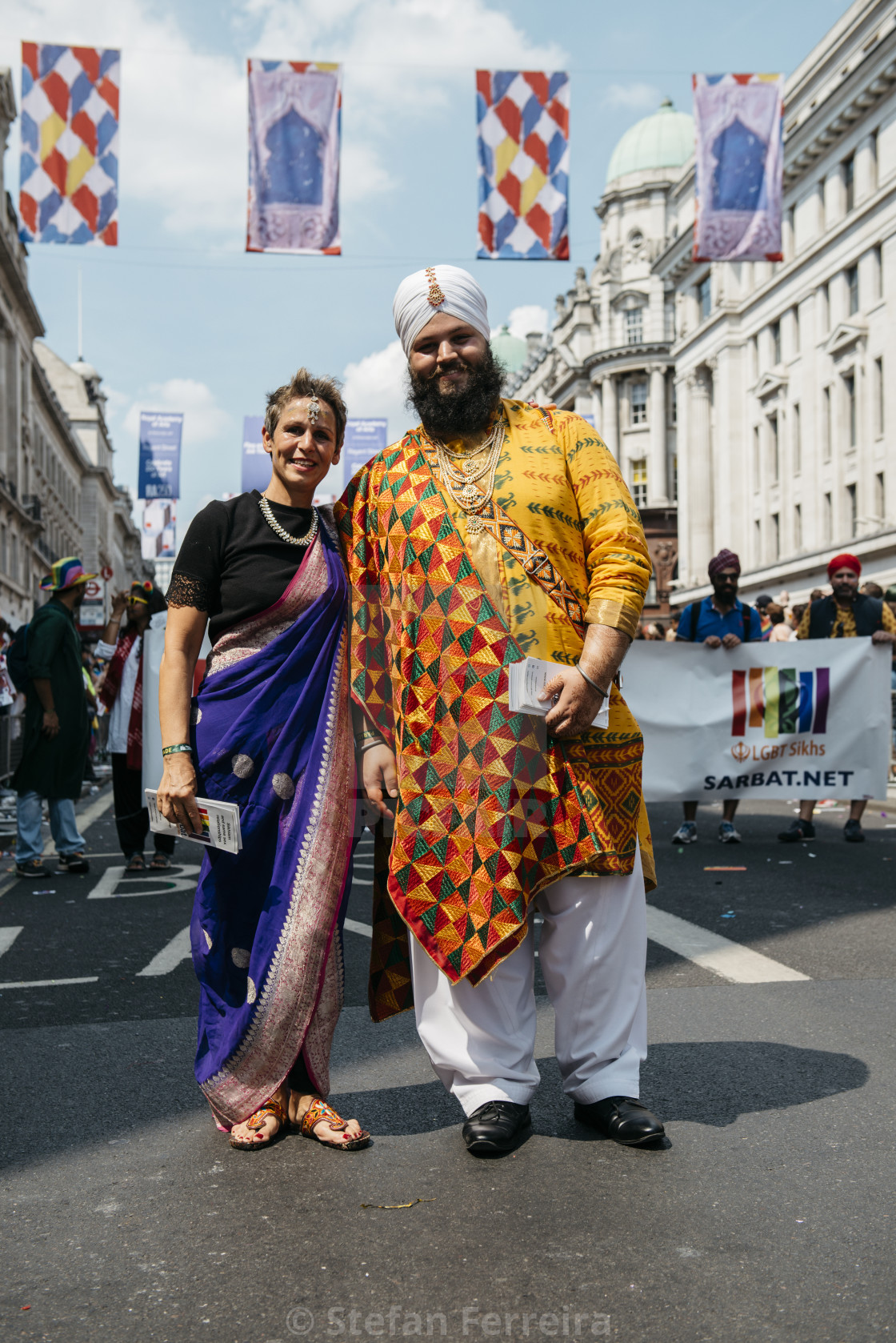 """London Pride '18 [10]"" stock image"