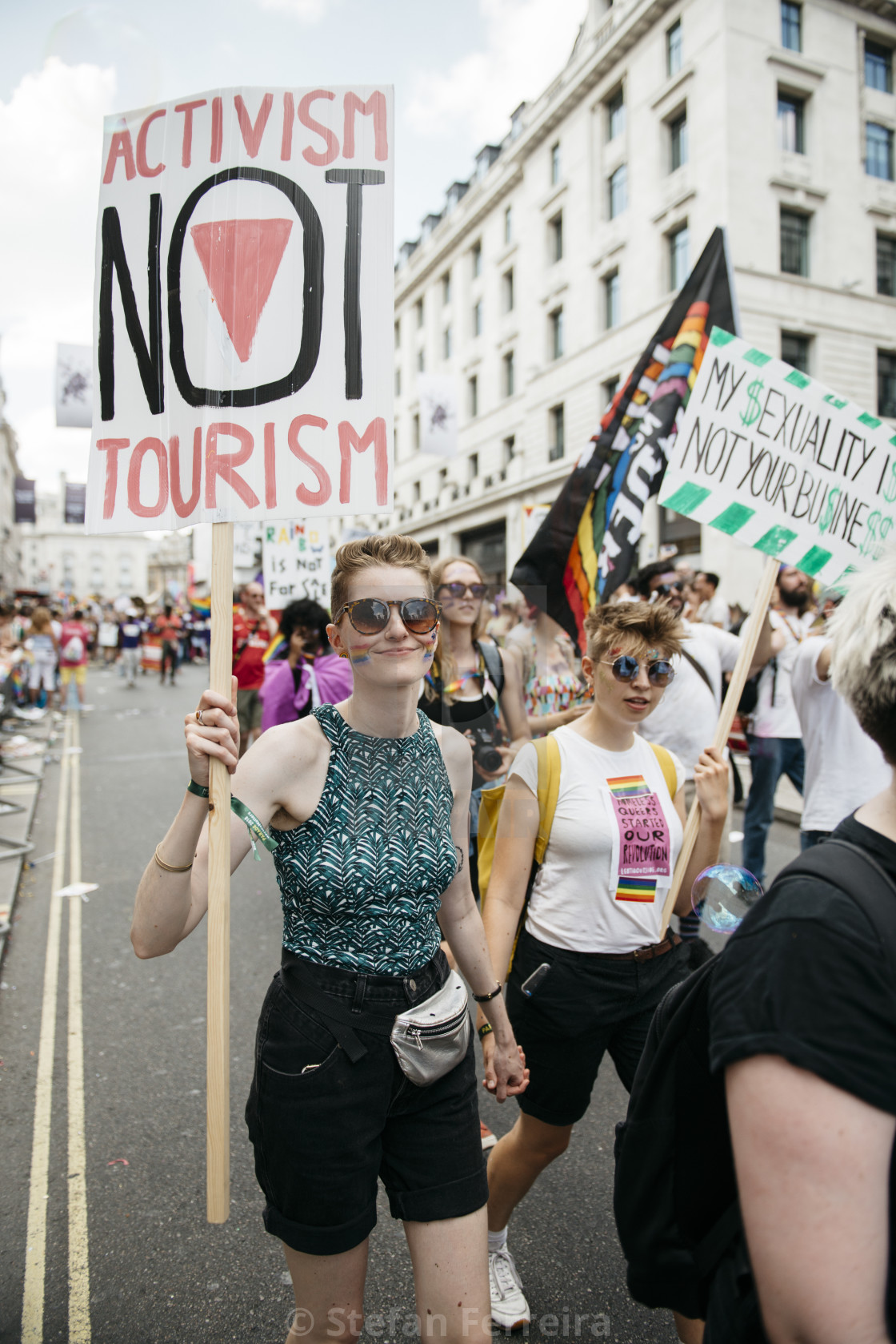 """London Pride '18 [13]"" stock image"