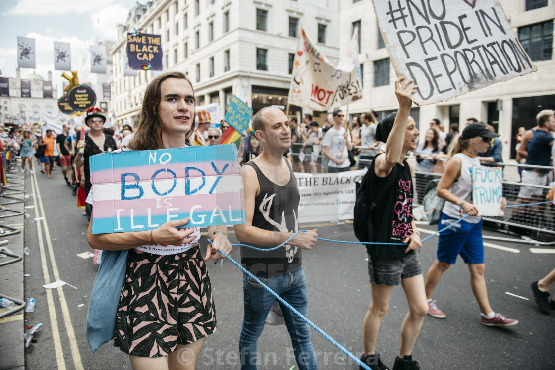 """London Pride '18 [14]"" stock image"