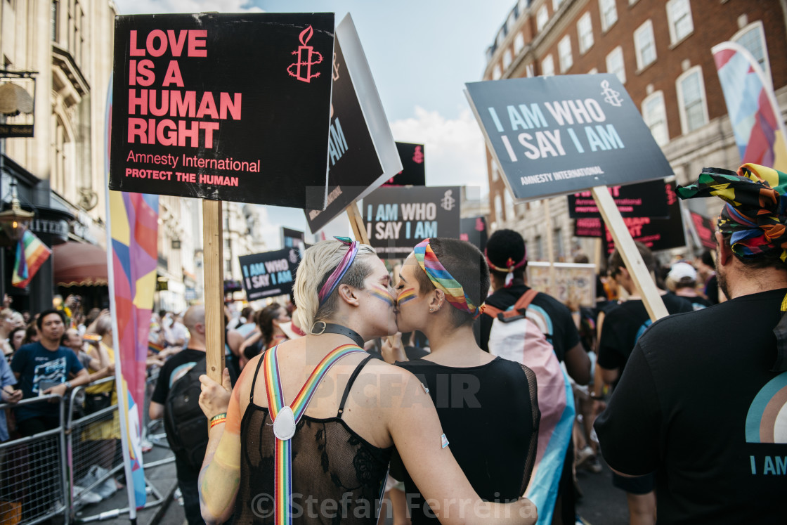 """London Pride '18 [16]"" stock image"