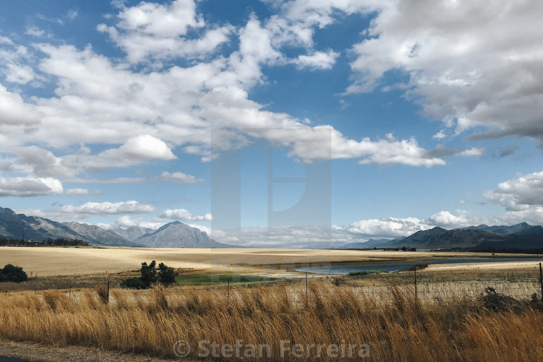 """Tulbagh Valley"" stock image"