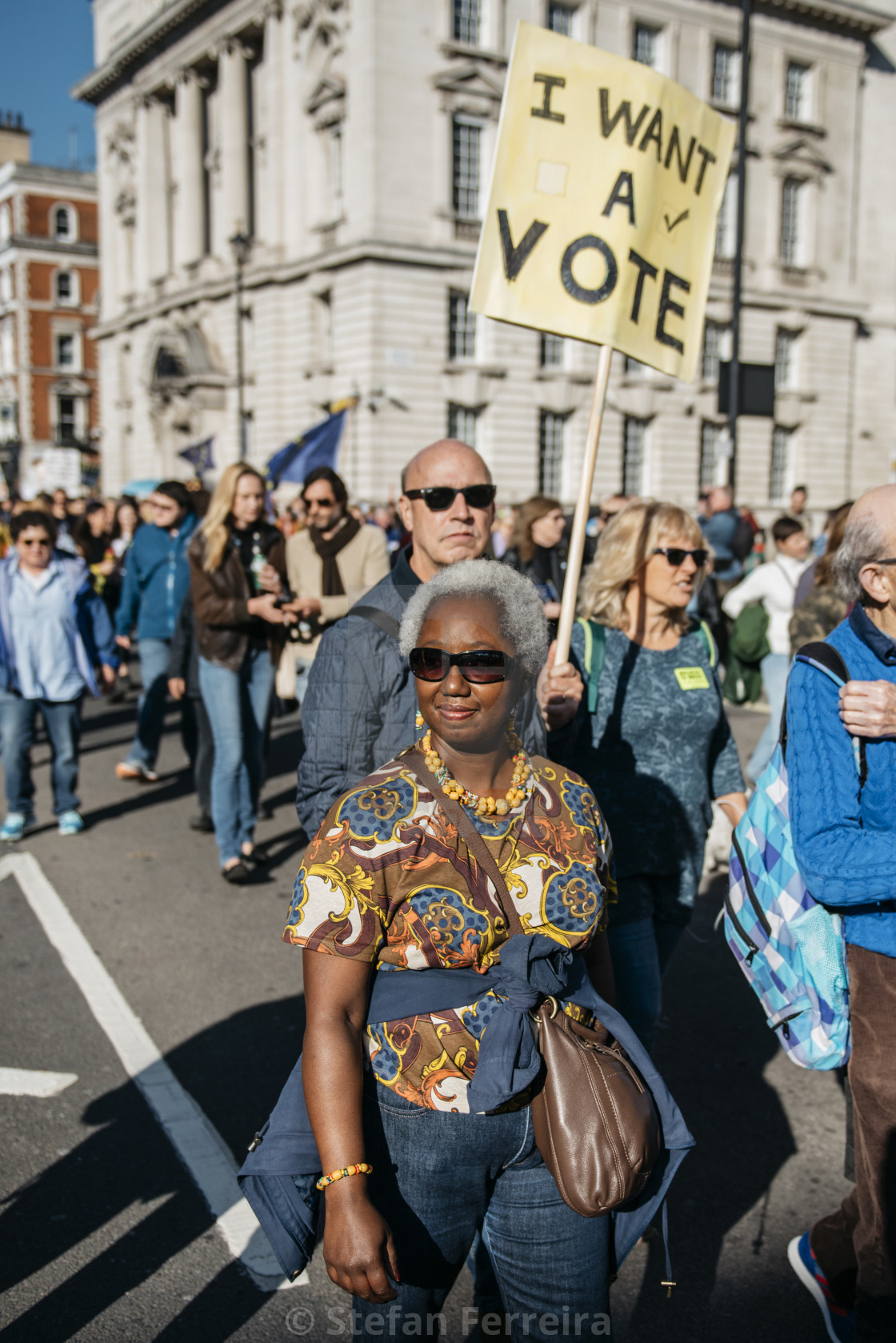 """Peoples' Vote March [12]"" stock image"