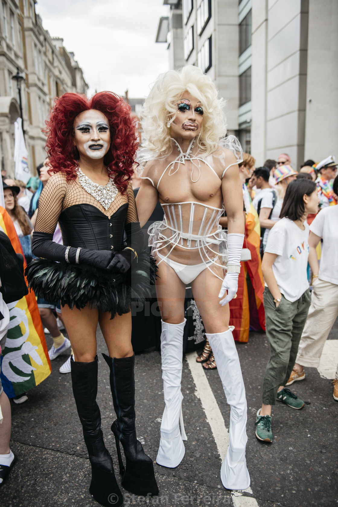 """London Pride '19 [3]"" stock image"