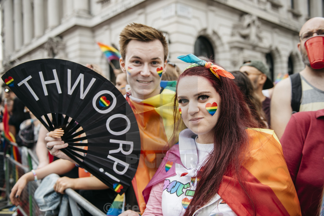 """London Pride '19 [16]"" stock image"
