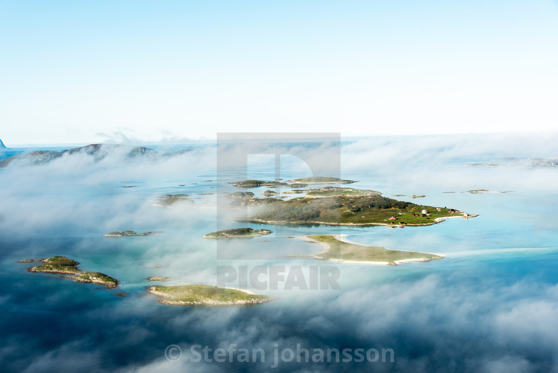 """Island view"" stock image"