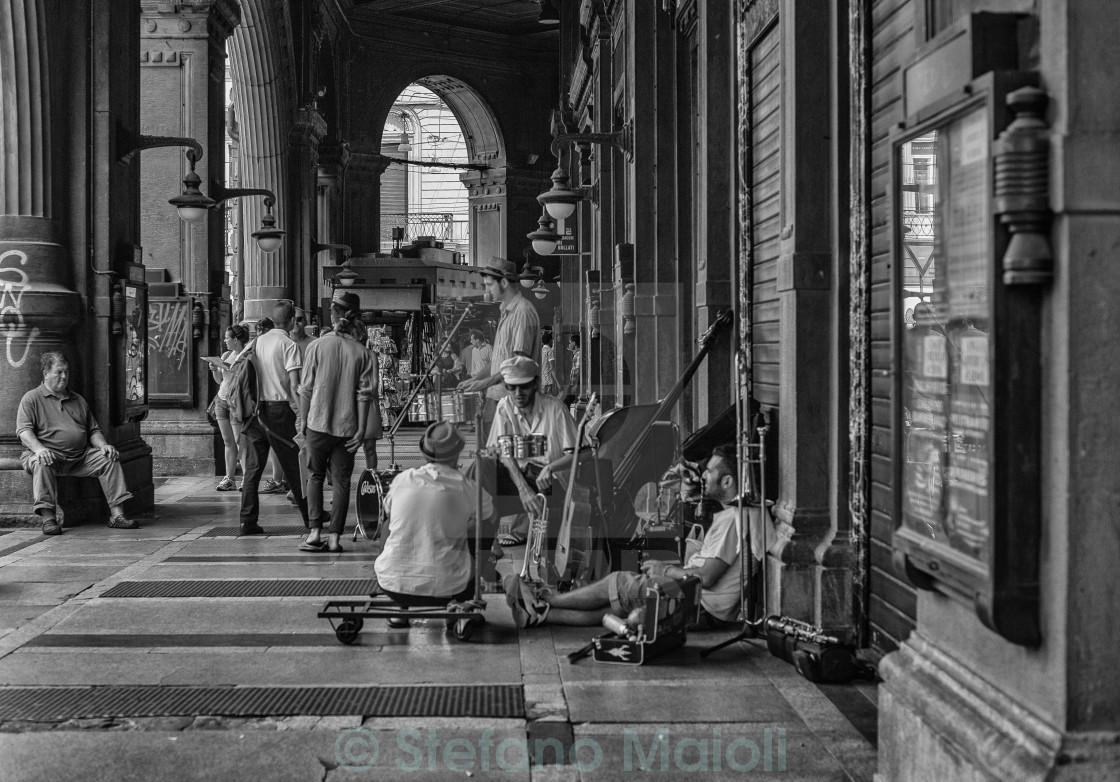 """""""Street Photography Bologna Italy"""" stock image"""