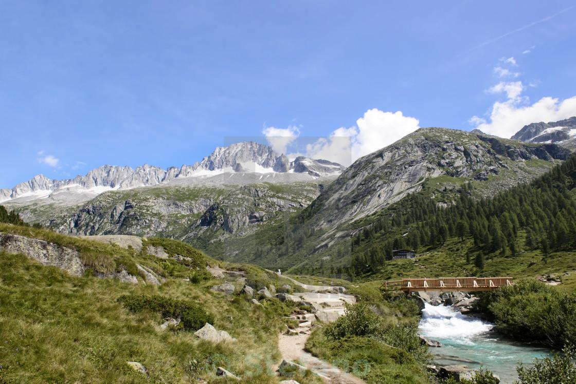 """Landscape in Trentino Italy"" stock image"