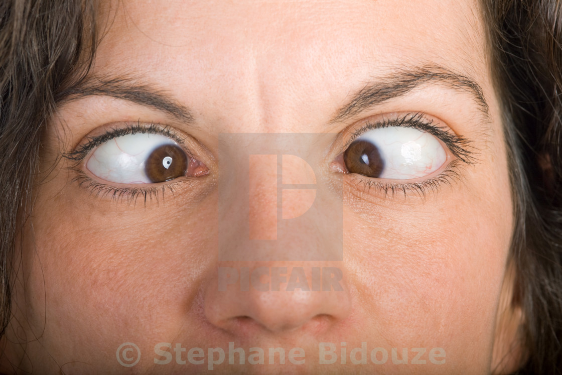 """squinting closeup"" stock image"