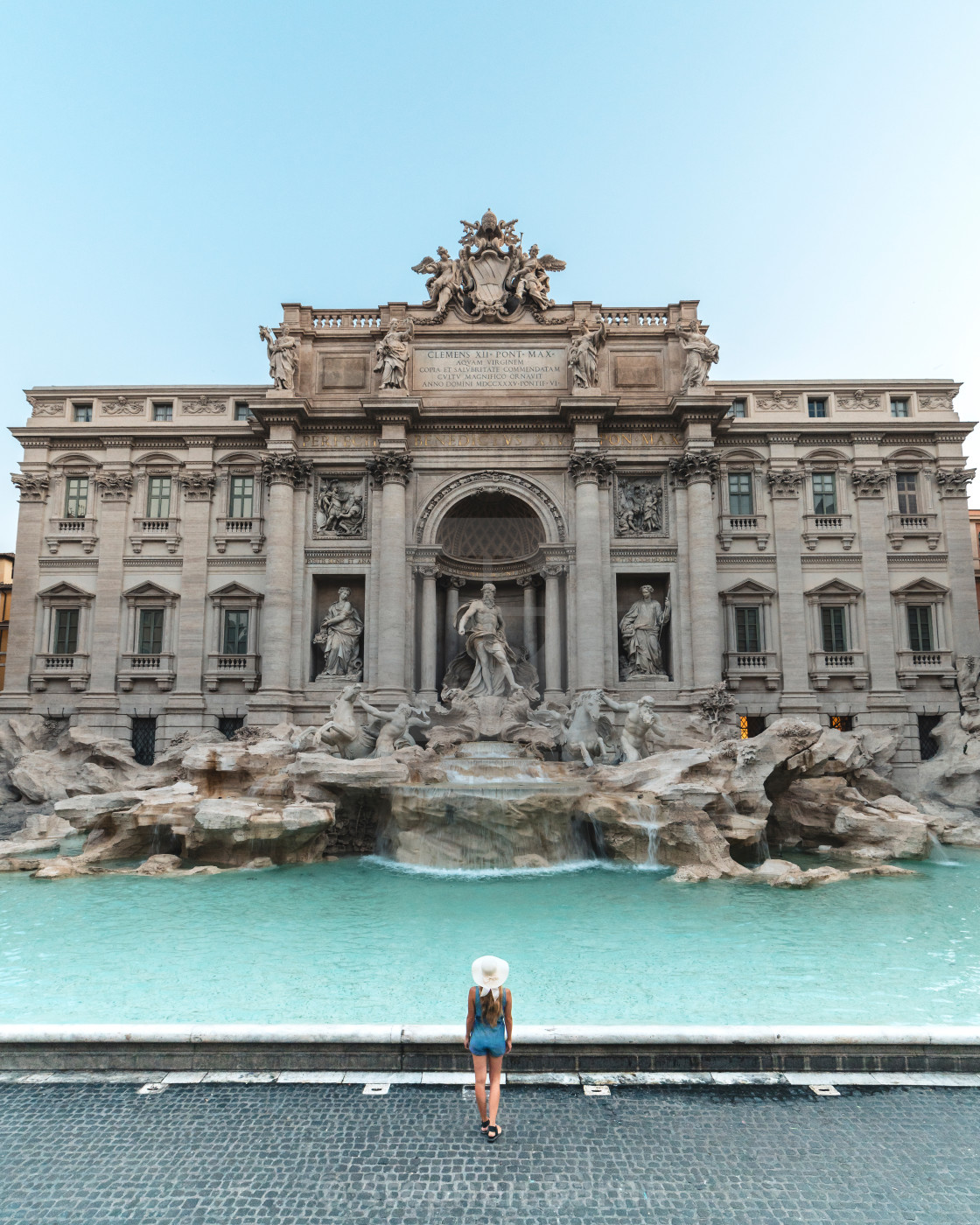 """Trevi Fountain in Rome, Italy"" stock image"