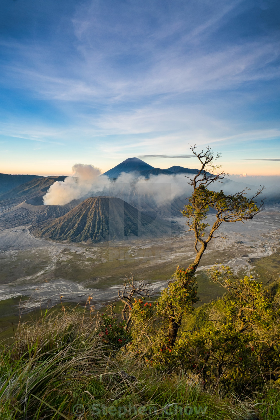 """The Amazing Bromo"" stock image"