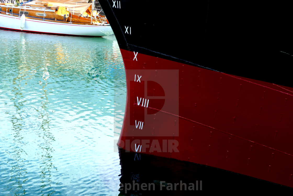 """Plimsoll Line"" stock image"