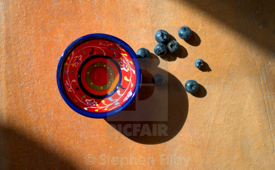 """""""blueberry shadow"""" stock image"""
