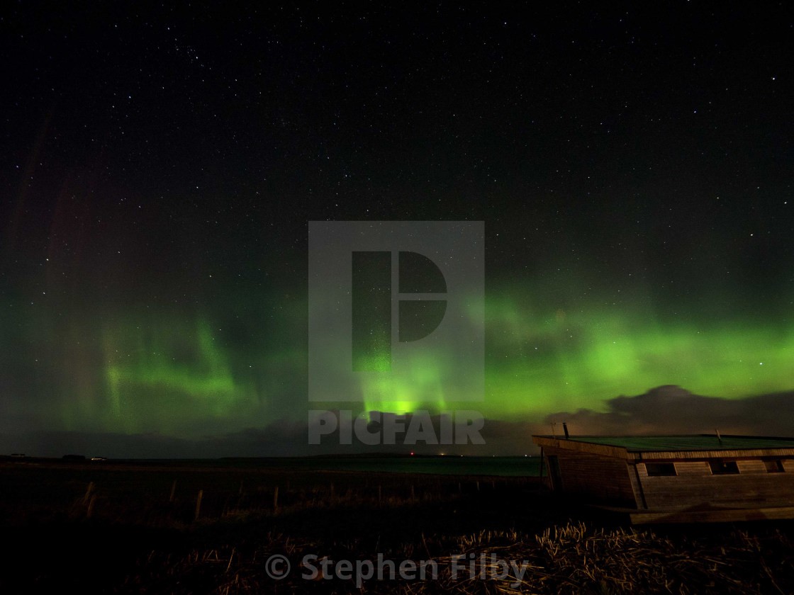 """Northern lights 1"" stock image"