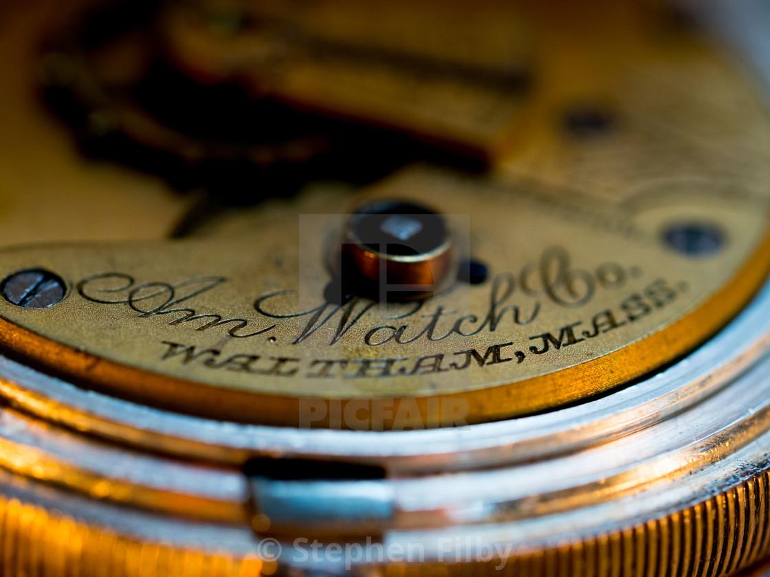 """American Watch Company"" stock image"