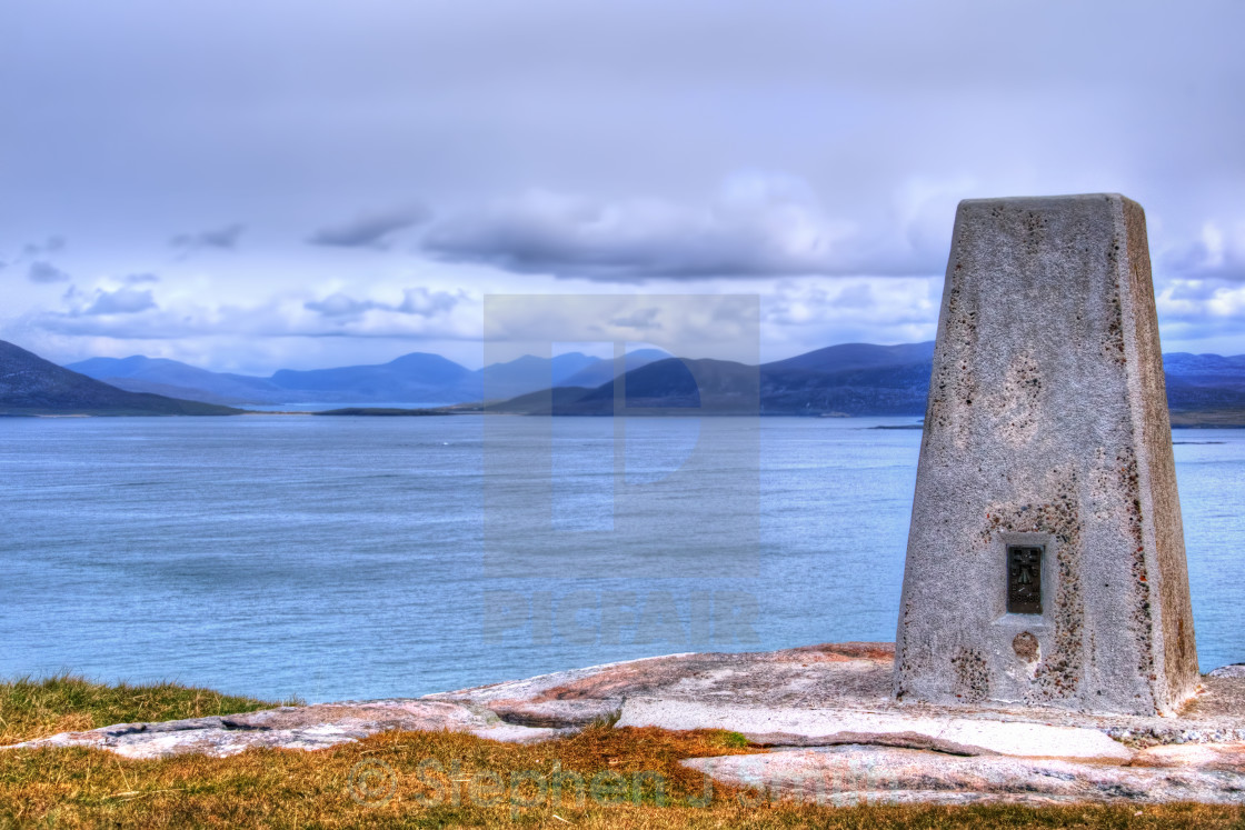 """Berneray Views"" stock image"