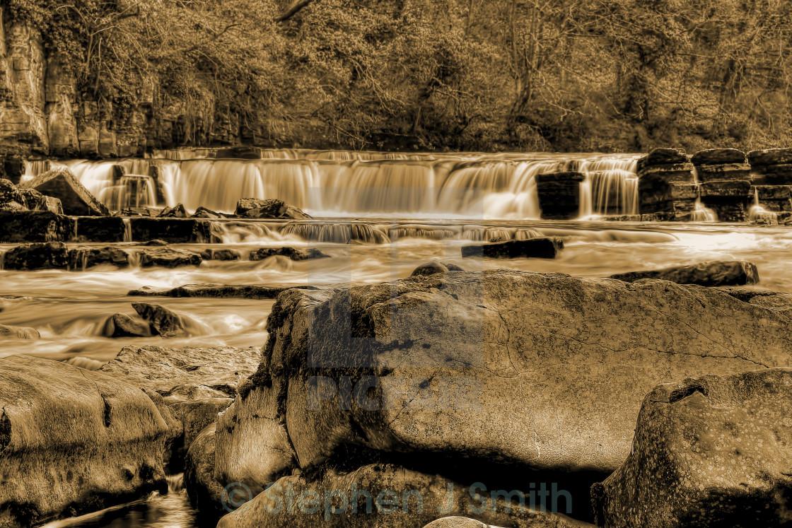 """""""Richmond Waterfalls"""" stock image"""