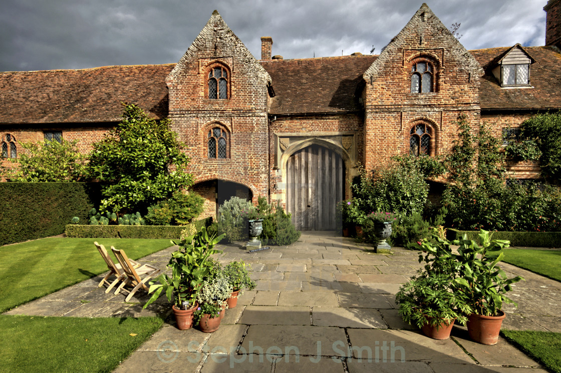 """Hever Castle"" stock image"