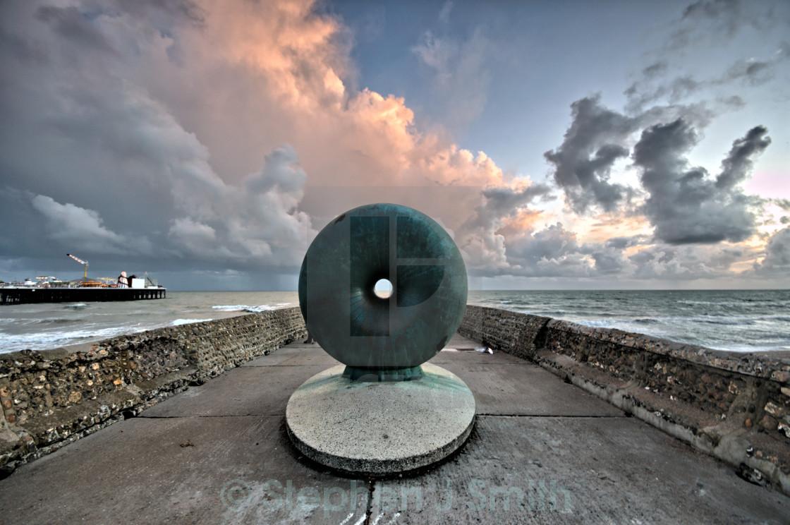 """Brighton Doughnut"" stock image"