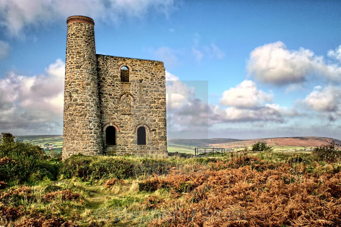 """Cornish Mine"" stock image"