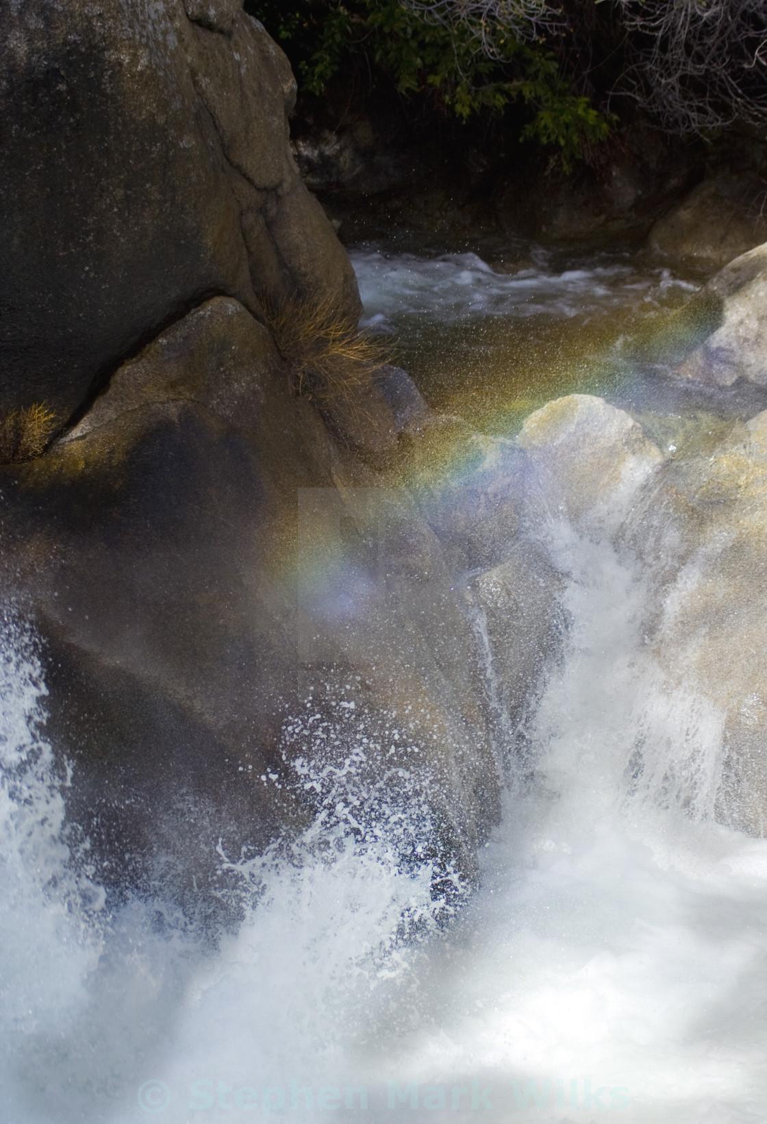 """Rainbow Falls"" stock image"