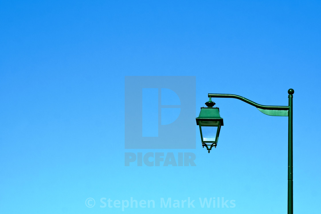 """Green Lamp"" stock image"