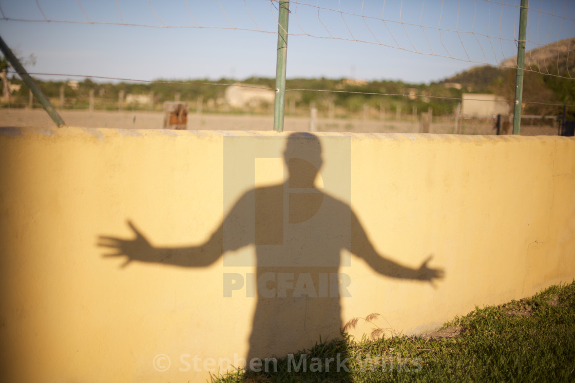 """Happy Shadow"" stock image"
