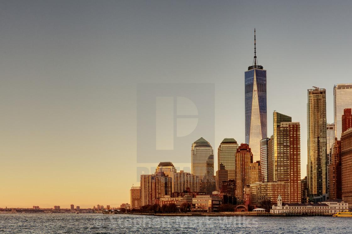 """One World Trade Center, New York"" stock image"