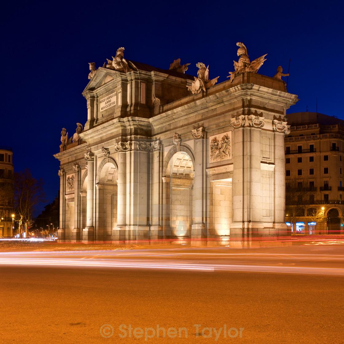 """Puerta De Alcala"" stock image"