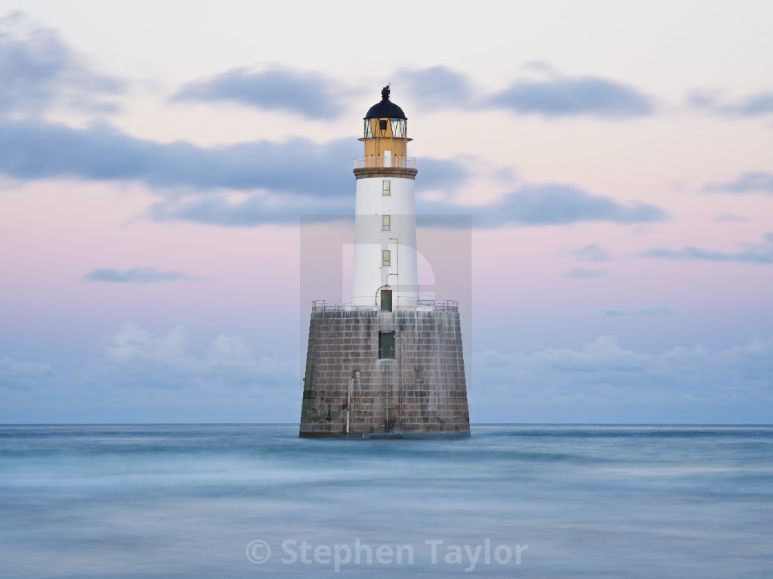 """Rattray Head Lighthouse"" stock image"