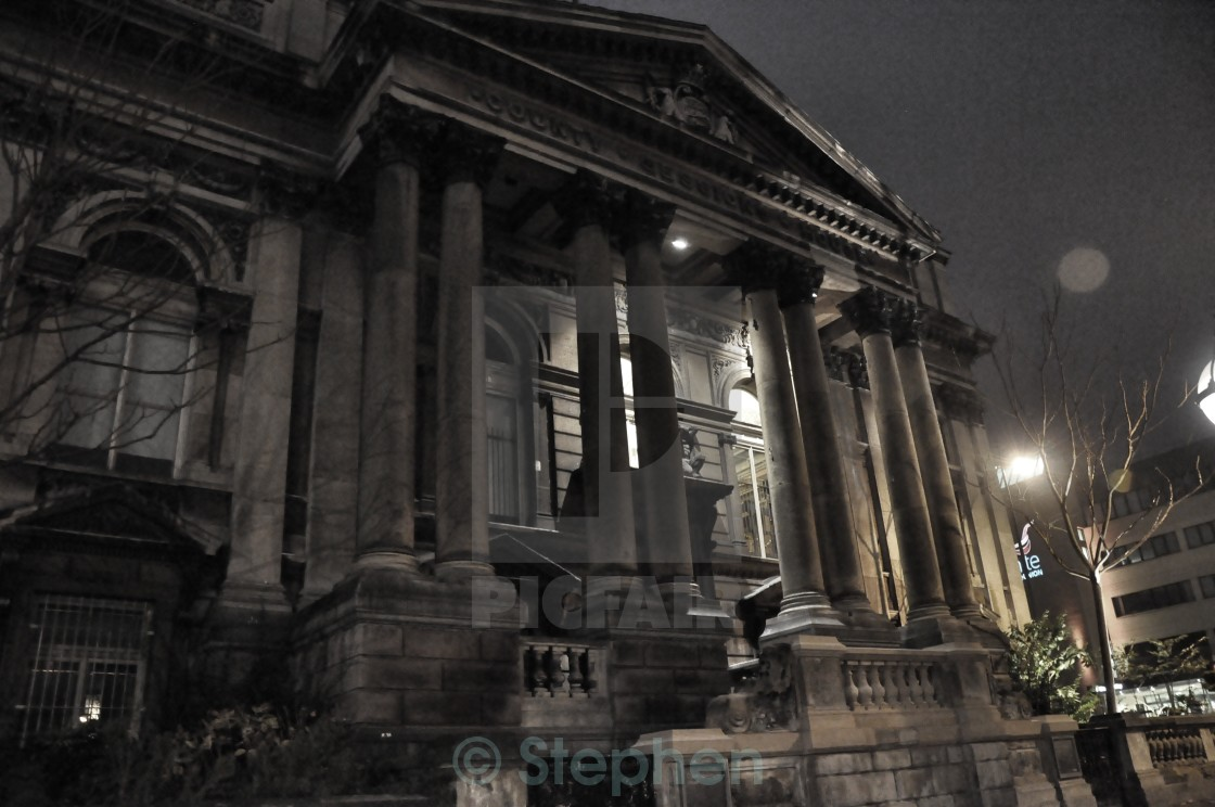 """Liverpool Central Library"" stock image"