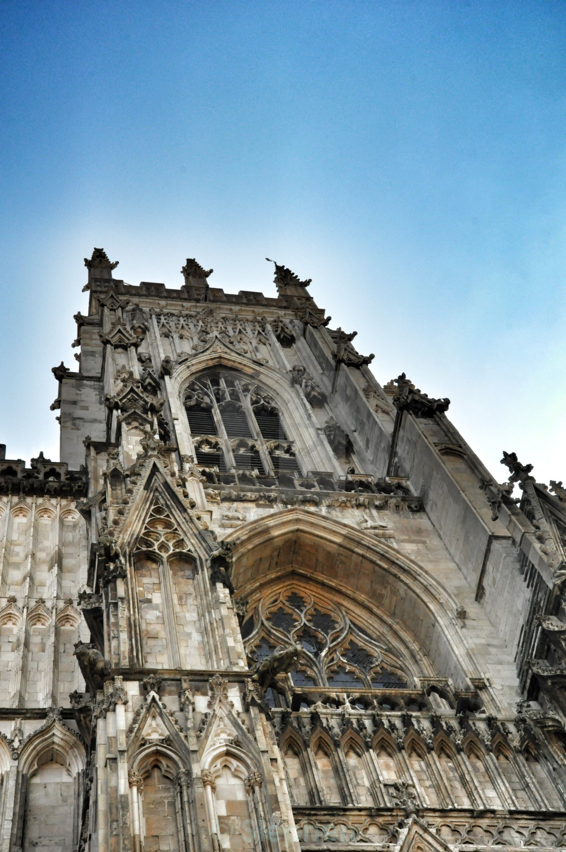 """York Minster"" stock image"
