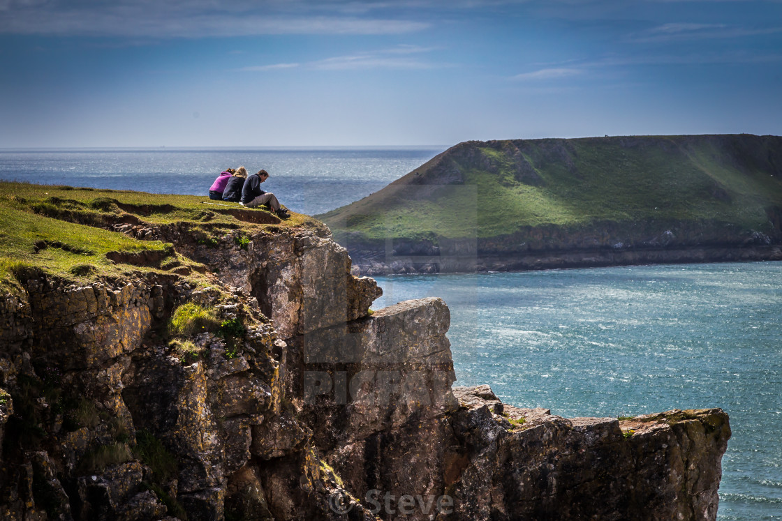 """Worm's head."" stock image"