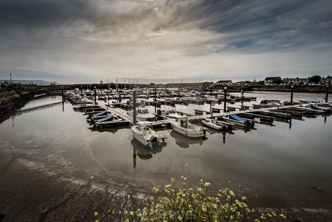 """Burry port harbour"" stock image"
