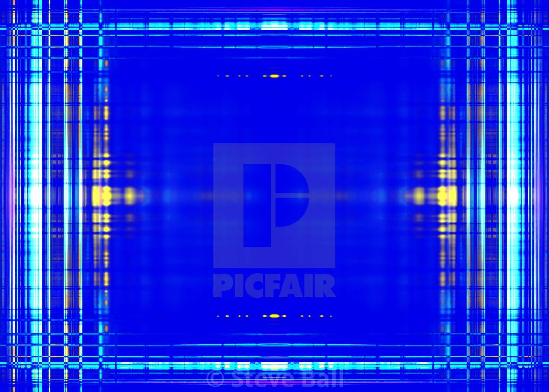 Light blue lines border on blue - License, download or print