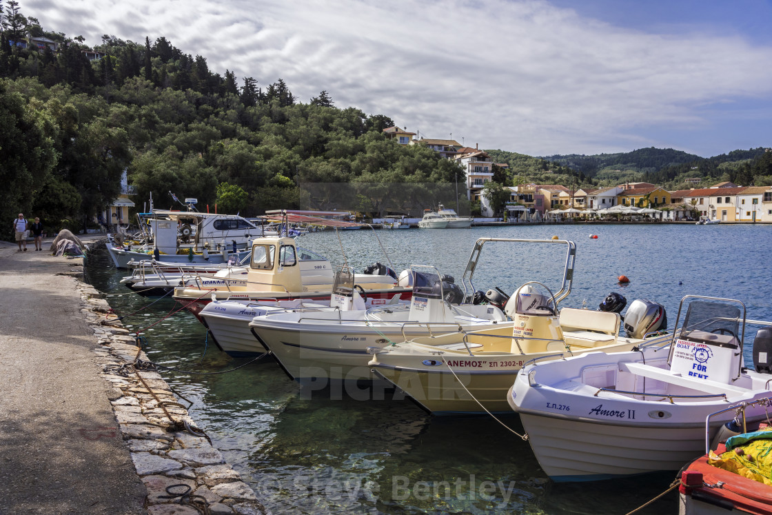 Boat Hire, Lakka Harbour  - License, download or print for