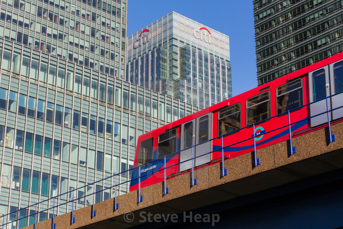 """Logo or sign for Citi or Citibank in Canary Wharf"" stock image"