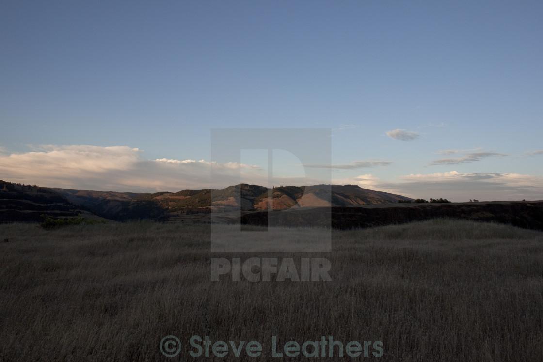"""Columbia River Gorge"" stock image"